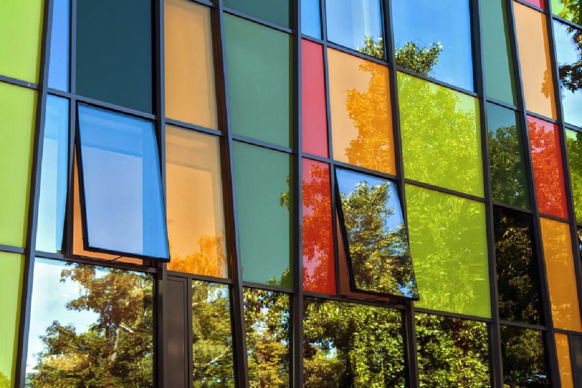 Coloured Aluminium Windows Cornwall